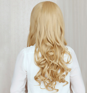Lolita Curl K-ON Cosplay Gold Wig SP152569 - SpreePicky  - 7