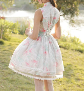 Lolita Elegant Chinese Retro Style Cosplay Dress SP165443
