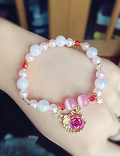 Load image into Gallery viewer, Lolita Handmade Shell Rose Pearl Bracelet SP165740