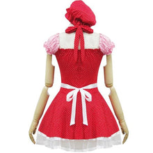 Load image into Gallery viewer, Lolita Miss Pinky Strawberry Maid Dress with Apron SP153692 - SpreePicky  - 5