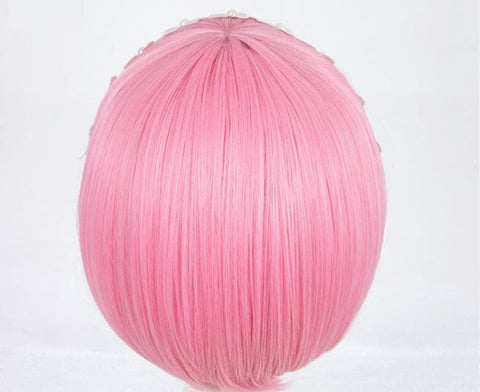 Lolita Pink Lahm Cosplay Short Hair Wig SP166805