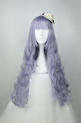 Lolita Purple Curly Long Wig SP166225