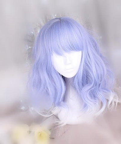 Lolita Purple Long Curly Hair Wig SP166827