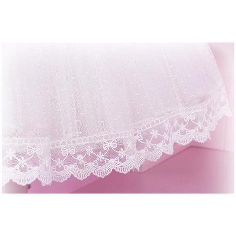 [Reservation] Lolita White Color Supper Gorgeous Petticoat Skirt SP152079 - SpreePicky  - 3