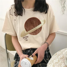 Load image into Gallery viewer, Loose Harajuku Space T-Shirt SP1812502