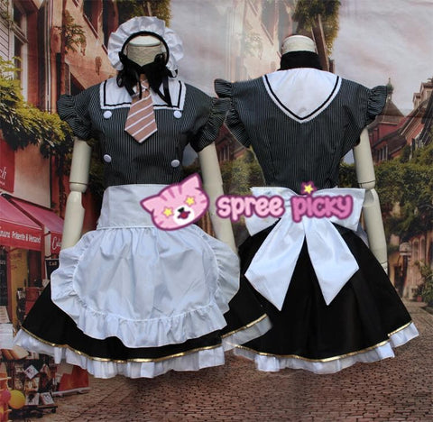 [LoveLive] Hanayo Koizumi Cafe Maid Dress Cosplay Costume SP153568 - SpreePicky  - 4
