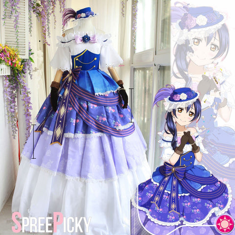 Love Live! Dancing Party Sonoda Umi Princess Cosplay Costume Dress SP1710099