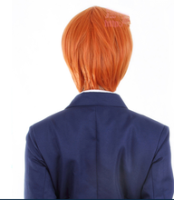 Load image into Gallery viewer, Love Live Hoshizora Rin Orange Cosplay Wig 30cm SP152880 - SpreePicky  - 3