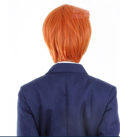 Love Live Hoshizora Rin Orange Cosplay Wig 30cm SP152880 - SpreePicky  - 3