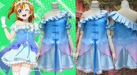 [Love Live] Kousaka Honoka Floral Fairy Cosplay Costume SP153605 - SpreePicky  - 2