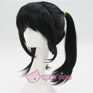 Love Live Niconiconi Asymmetric Pig Tails Cosplay Wig with Bangs 35cm SP151721 - SpreePicky  - 2