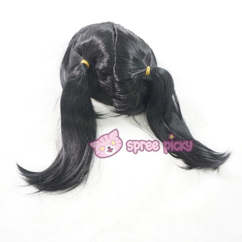 Love Live Niconiconi Asymmetric Pig Tails Cosplay Wig with Bangs 35cm SP151721 - SpreePicky  - 6