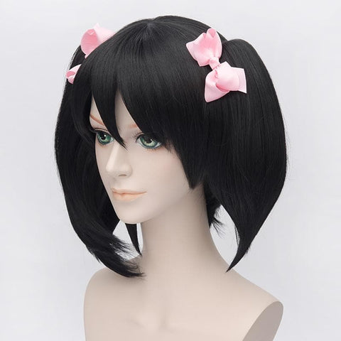 [Love Live] Niconiconi Asymmetric Pig Tails Cosplay Wig with Bangs SP152609 - SpreePicky  - 4