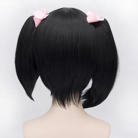 [Love Live] Niconiconi Asymmetric Pig Tails Cosplay Wig with Bangs SP152609 - SpreePicky  - 6