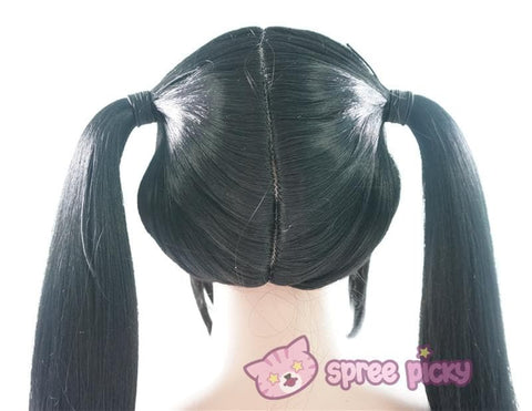 Love Live Niconiconi Asymmetric Pig Tails Cosplay Wig  with bangs SP151722 - SpreePicky  - 6