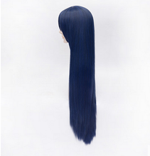 Load image into Gallery viewer, Love Live! Sonoda Umi Black Blue Long Straight Cosplay Wig SP152545 - SpreePicky  - 3