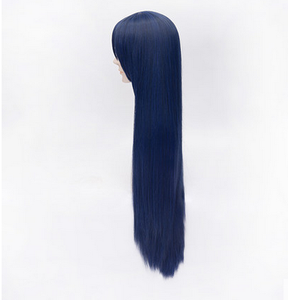 Love Live! Sonoda Umi Black Blue Long Straight Cosplay Wig SP152545 - SpreePicky  - 3