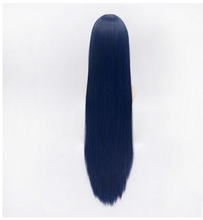 Load image into Gallery viewer, Love Live! Sonoda Umi Black Blue Long Straight Cosplay Wig SP152545 - SpreePicky  - 4