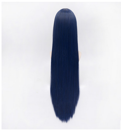 Love Live! Sonoda Umi Black Blue Long Straight Cosplay Wig SP152545 - SpreePicky  - 4