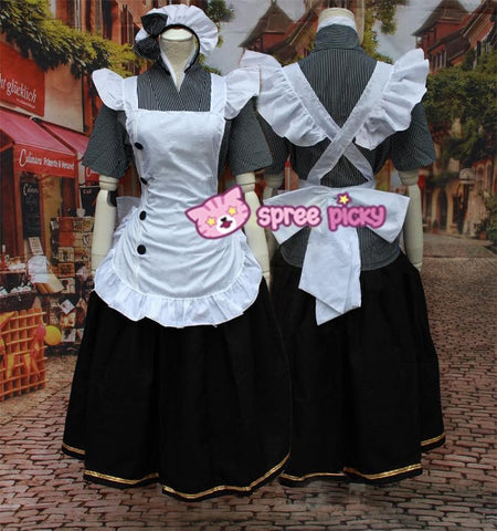[Love live] Nozomi Tojo Caff Maid Dress Cosplay Costume SP153596 - SpreePicky  - 4