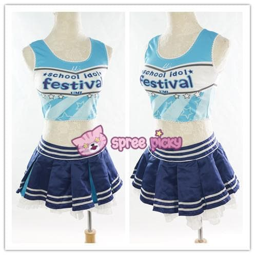 Love live Sonoda Umi Cheerleaders Uniforms SP152458 - SpreePicky  - 1