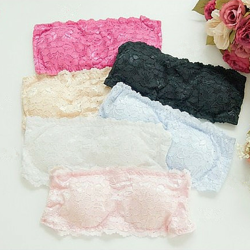 Lovely Colorful Lace Wrapped Chest Underwear SP165710