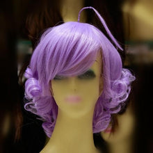Load image into Gallery viewer, [Lulu, The Flower Angel] Magical Angel Creamy Mami Lavender Short Curly Wig SP165035