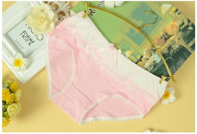 M-XL 11 Colors Kawaii Hipster Lace Undies SP165642