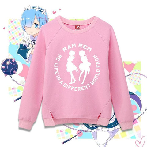 Re: Life In A Different World From Zero- Rem Ram Pullover Jumper SP168328
