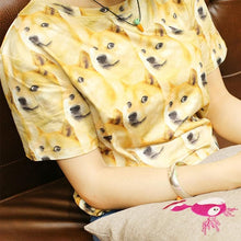 Load image into Gallery viewer, M/L/XL Creative Dog Short Sleeve Couples T-Shirt SP166297