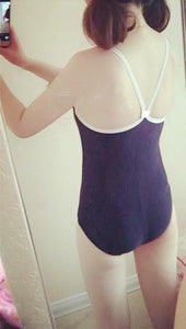 M/L Jfashion Basic Navy Swimsuit SP165894