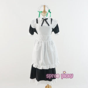 M/L [Love Live] Sonoda Umi Maid Dress Cosplay Costume SP153595