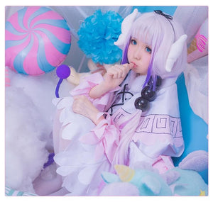 Final Stock! Miss Kobayashi's Dragon Maid Kanna Cosplay Costume SP179034