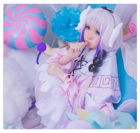 Miss Kobayashi's Dragon Maid Kanna Cosplay Costume SP179034