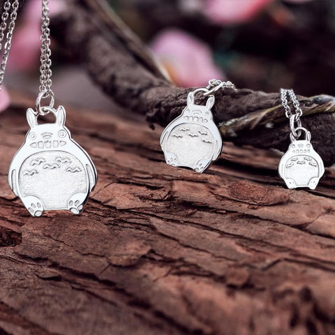 My Neighbor Totoro Silver Necklace SP165390