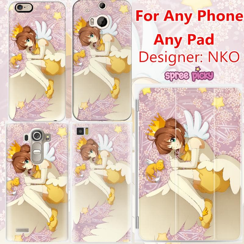 [NKO Design] CardCaptor Sakura Phone Case/Ipad Case for Any Model SP167644