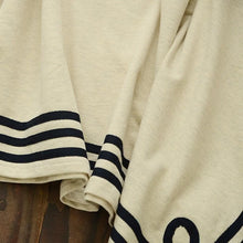 Load image into Gallery viewer, Navy/Beige Simple Sailor Loose Cape Coat SP153451 - SpreePicky  - 11