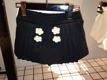 Load image into Gallery viewer, Navy/White Daisy Flowers Coat SP153806/Pant-skirt SP154355 - SpreePicky  - 10