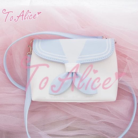 Blue/Navy kawaii Sailor Collar Shoulder Bag SP167104