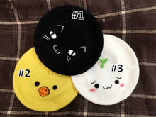 Load image into Gallery viewer, Neko Atsume Doge Kumamon Emoji Beret Hat SP167872
