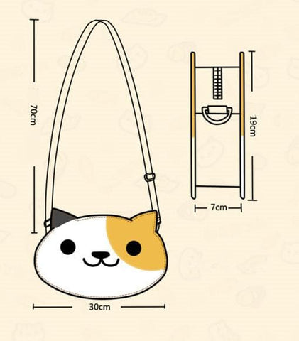 [Neko Atsume] Kitty Cat PU Bag SP165093