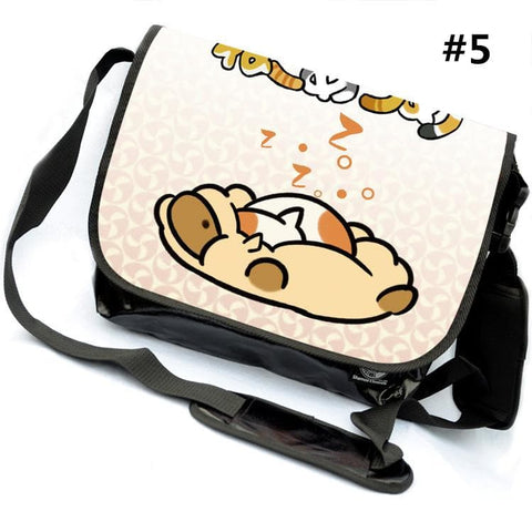 [Neko Atsume] M/L Kawaii Neko Cat Shoulder Bag SP165384