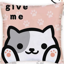 Load image into Gallery viewer, [Neko Atsume] Give Me Meow Cushion SP165187