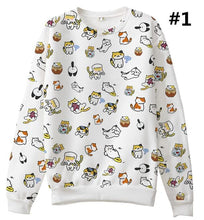 Load image into Gallery viewer, [Neko Atsume] S-3XL So Many Cats On My Top Jumper SP165056