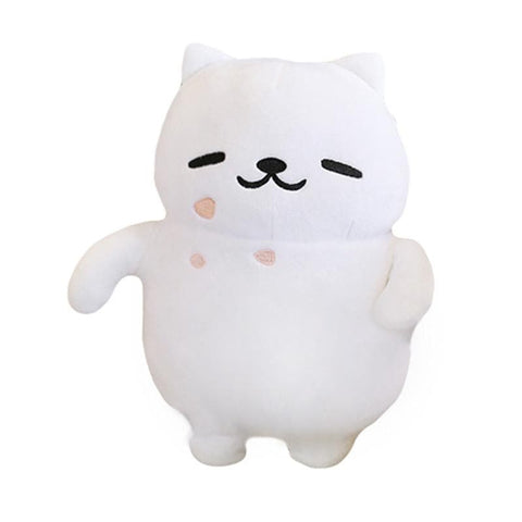 [Neko Atsume] White Cat Tubbs/ Manzoku San Plush Doll SP165154