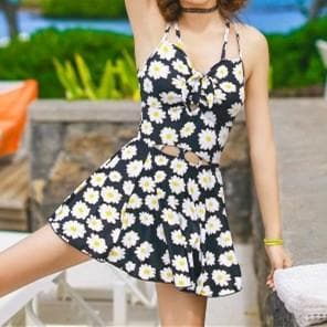 Final Stock! Cutie Daisy  Printed One Piece Swimsuit SP165579