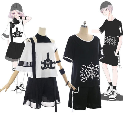 NieR:Automata 2B 9S Daily T-Shirt Set SP1812028