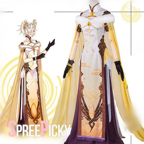 Overwatch Mercy Cosplay Cheongsam  SP1710306