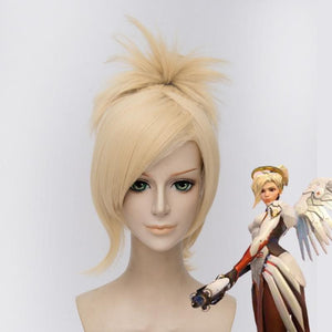 Overwatch Mercy Cosplay Wig SP167921