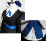 Panty & Stocking Black Maid Dress Cosplay Costume SP151649